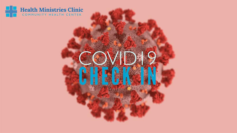COVID-19 Check in graphic
